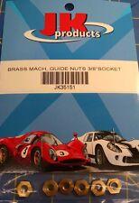 """JK 35151 Brass Machine Guide Nuts 3/8"""" Socket from Mid-America Raceway"""