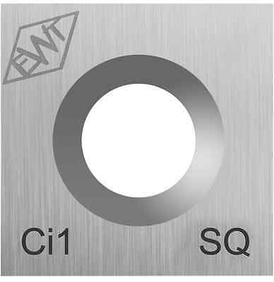 Genuine Easy Wood Tools Ci1-SQ Carbide Inset Cutter for Full Lathe Turning Tool