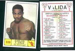 Carlos-T-Cruz-S-Domingo-Campioni-dello-Sport-1968-69-Ed-Panini-Valida-VG-n-329