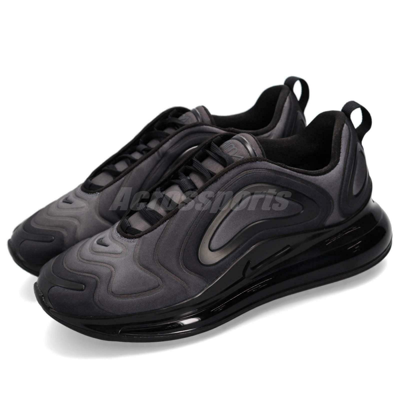 Nike Air Max 720 Total Eclipse Black Men Running shoes Sneakers AO2924-004
