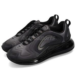 29ae7a9354 Nike Air Max 720 Total Eclipse Black Men Running Shoes Sneakers ...