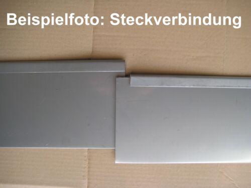 DICKE Rasenkanten Metall Beeteinfassung Rasenkante Beetrand verzinkt Bord