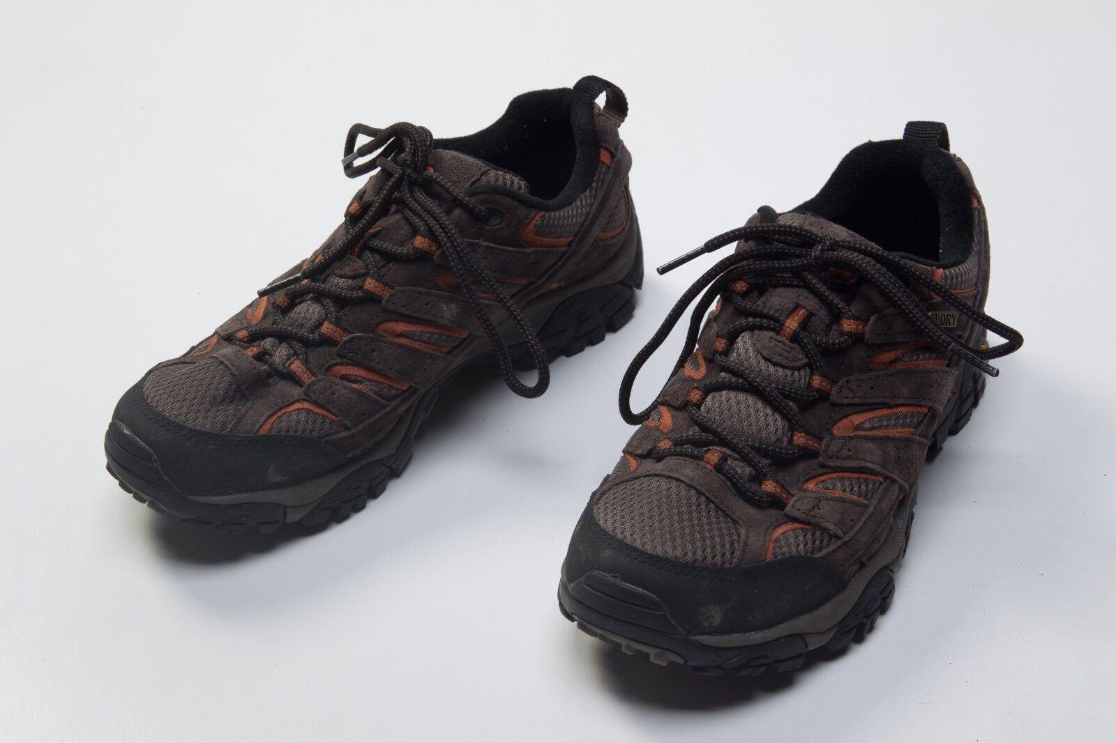 2d73620e9d04 Men s Merrell Moab 2 Waterproof WP Low Hiking Trail shoes Size Sz US 7.5  US7.