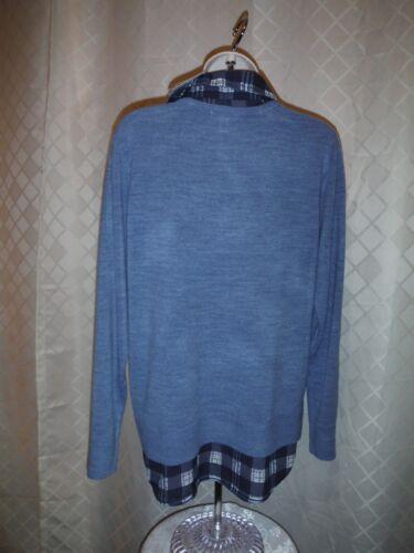 Croft /& Barrow Long Sleeve Sweater shirt Blouses 2XL,XL,L,Some Color NWT