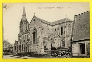cpa-FRANCE-Bretagne-22-PLOUBALAY-L-039-EGLISE-St-PIERRE-et-St-PAUL-vers-1900
