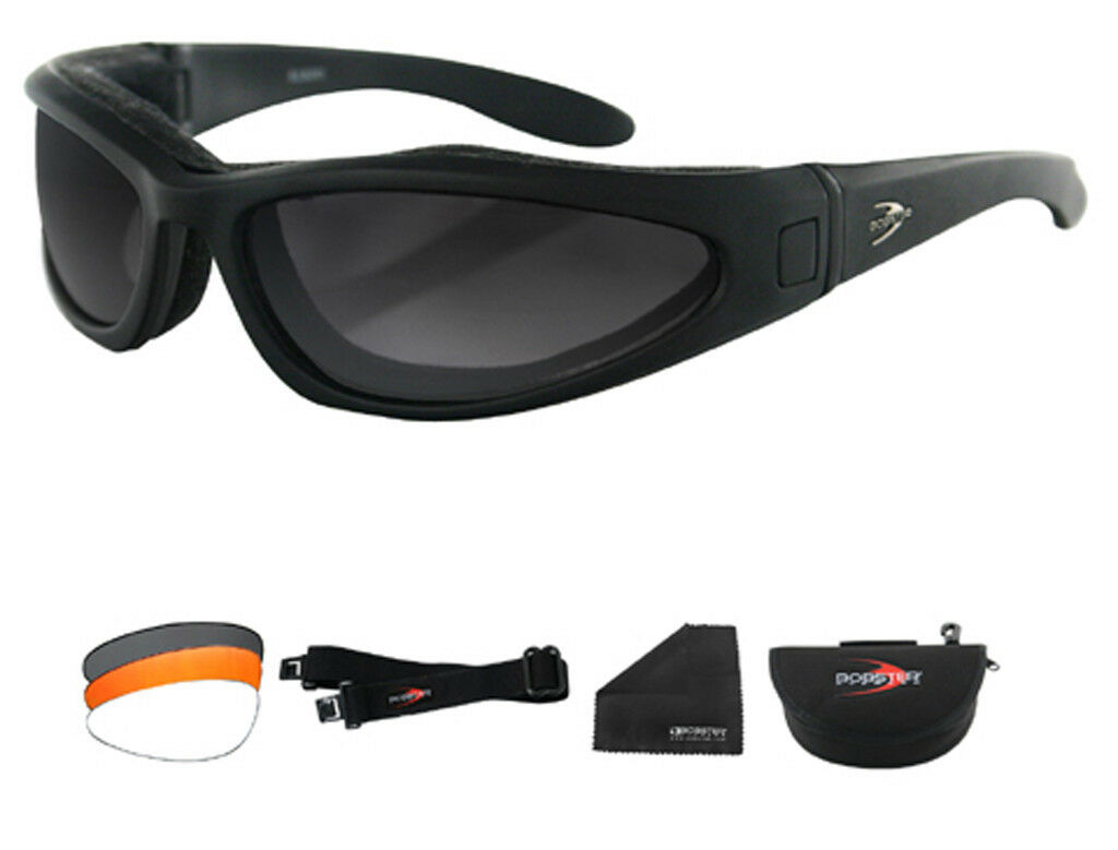 Bobster Congreenible Lowrider II Sunglasses with 3 Anti Fog lenses