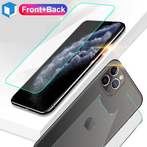 For-iPhone-11-11-Pro-Max-Front-and-Back-9H-Tempered-Glass-Screen-Protector-Film