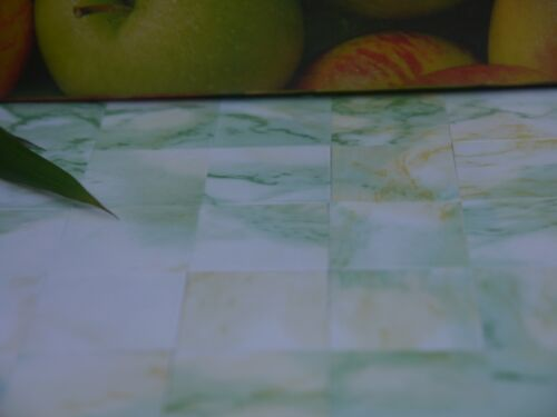 "25 Marble-esque 1:12th APPLE GREEN 1/"" Dolls House Miniature Floor Tiles"