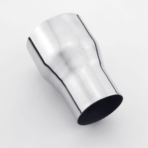 """2.5/"""" ID to 3.5/"""" OD exhaust adapter coupler pipe reducer stainless steel"""