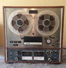 VINTAGE TEAC A-4010S Reel to Reel Tape Recorder AS-IS