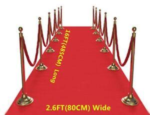 15-FT-environ-4-57-m-Red-Carpet-Floor-Runner-Mariage-Anniversaire-Hollywood-Fete-Prop-Decoration