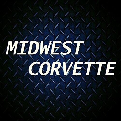 C7 Corvette Underhood Emblem Crossed Flags Logo 2014-2018