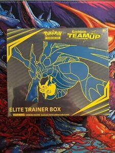 Pokemon TCG Sun & Moon - Team Up - Elite Trainer Box Sealed/New (Small Tear)