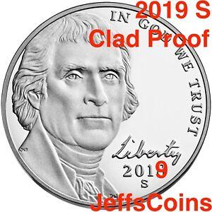 2019-S-Jefferson-Nickel-US-Mint-Proof-Set-Early-Strike-Nickle-5-New-Lowest-2020
