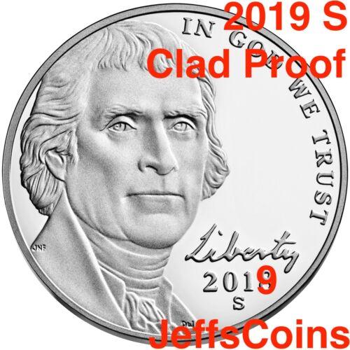 2019 P D S Jefferson Nickel Uncirculated US Mint Proof Set Best Strike Nickle 3