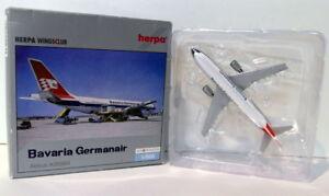 Herpa-1-500-Scale-Diecast-512695-Airbus-A300B4-Bavaria-Germanair-D-AMAX