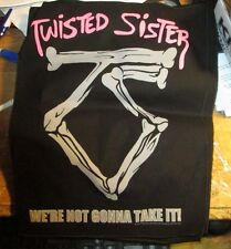 TWISTED SISTER COLLECTIBLE RARE VINTAGE BACKPATCH BACK PATCH 2016