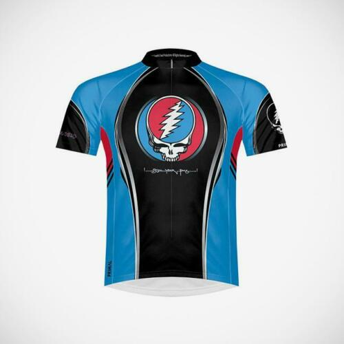 Grateful Dead Steal Your Face Men's Cycling Jersey