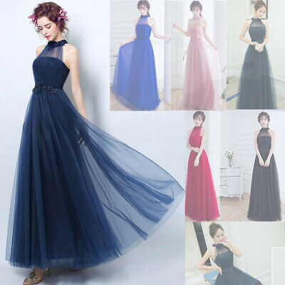 Noble Grace Evening Formal Party Ball Gown Prom Bridesmaid Long Host Dress TSJY