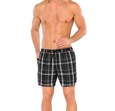 SCHIESSER AQUA Herren Bade-Retro-Shorts Swimmshort Gr 4-10 S-4XL Badehose