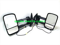 2007-2013 Gm Silverado & Sierra Extending Dl8 Trailer Tow Mirror Package
