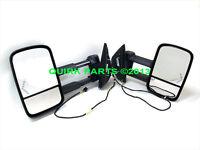2007-2013 Gm Silverado & Sierra Extending Dl8 Trailer Tow Mirror Package