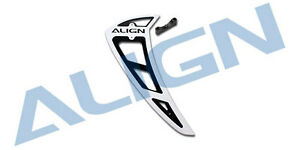 White H80T014XX Align Trex 700E//700N//800E  Pro Vertical Stabilizer