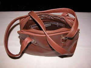5214b1badd Image is loading Shoulder-Bag-Used-Leather-Brown-Nardini-Milano