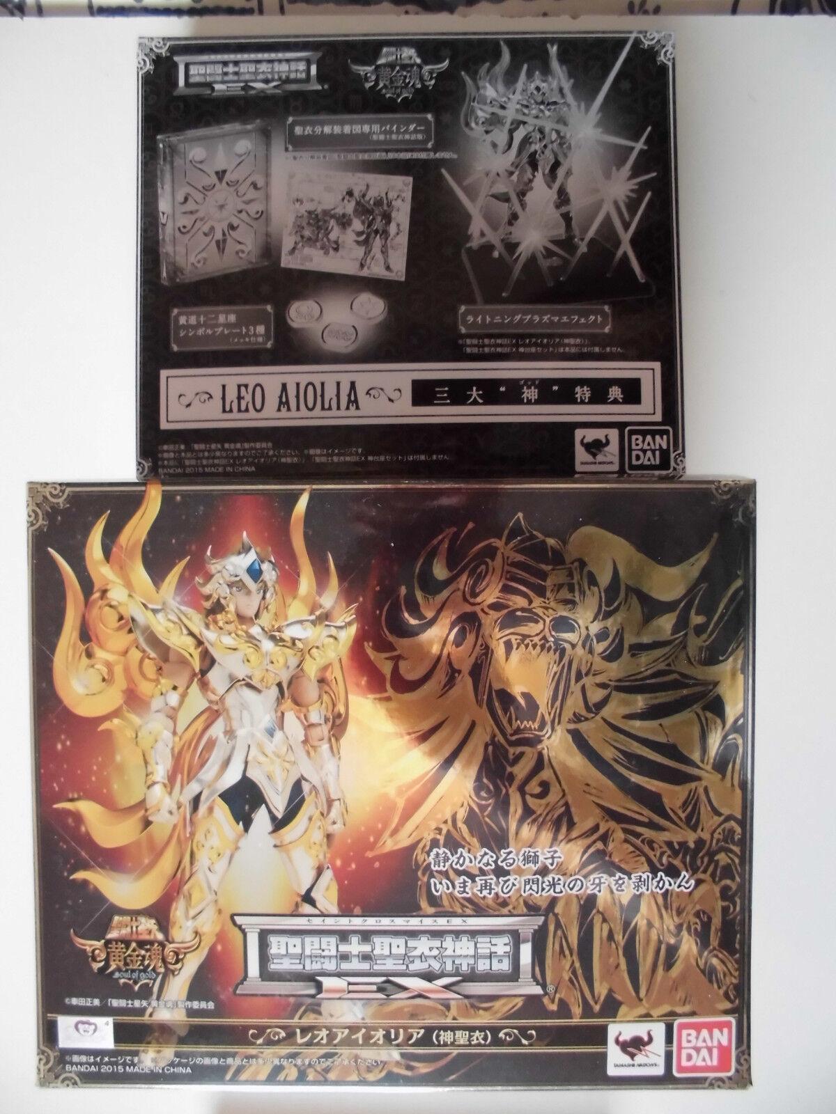 Myth cloth EX SOG soul gold Lion Aiolia leo seiya EUR NEW/chevaliers du zodiaque