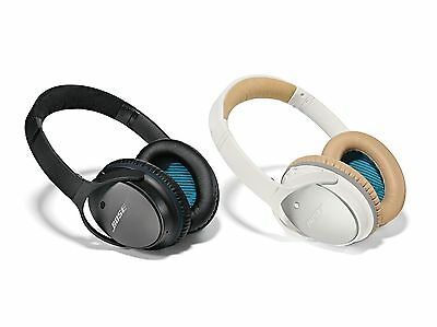 BOSE QuietComfort 25 Noise Cancelling Headphones for Apple - QC25 White or Black