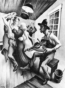 Thomas-Benton-Vintage-Authentic-Print-I-Got-a-Gal-on-Sourwood-Mountain