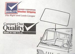 1961-1967 Ford Econoline Vent Window Seals NEW 61 62 63 64 65 66 67 VWP 2111 61