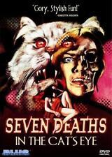 SEVEN DEATHS IN THE CAT'S EYE Jane Birkin*Anton Diffring Cult Horror R0 DVD *NEW