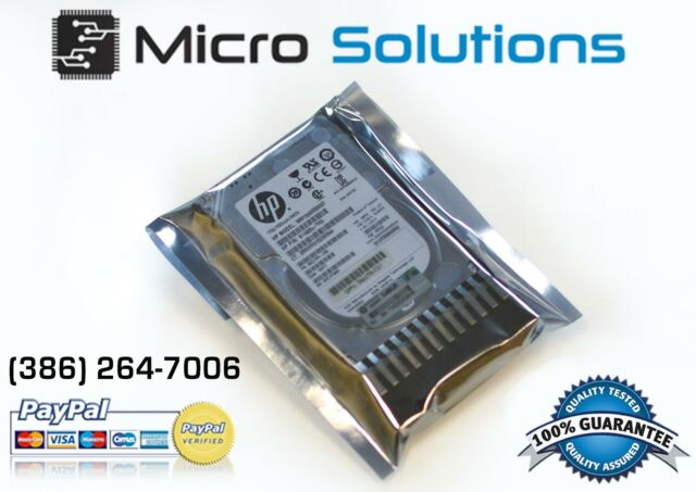 "HP 146GB 10K RPM 2.5"" 507125-B21 507283-001 SAS Hard Drive"