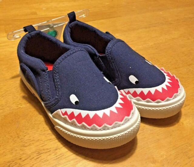 Carter/'s Shark Slip On Shoes Toddler Damon Navy