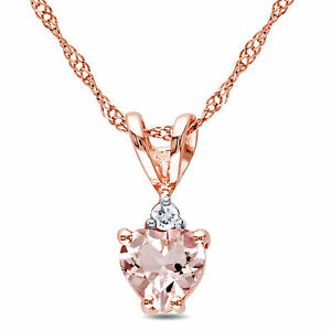 Amour-10k-Rose-Gold-Heart-cut-Morganite-and-Diamond-Accent-Necklace