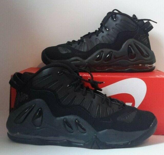 Nike Air Max Uptempo 97 Triple Black Size 9 399207 005 Jordan Kobe Running for sale online | eBay