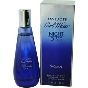 Cool water night dive by davidoff edt spray 2 7 oz ebay - Davidoff night dive ...
