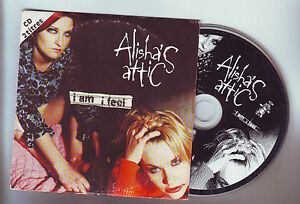 cd-single-2-titres-alisha-039-s-attic-034-i-am-i-feel-034