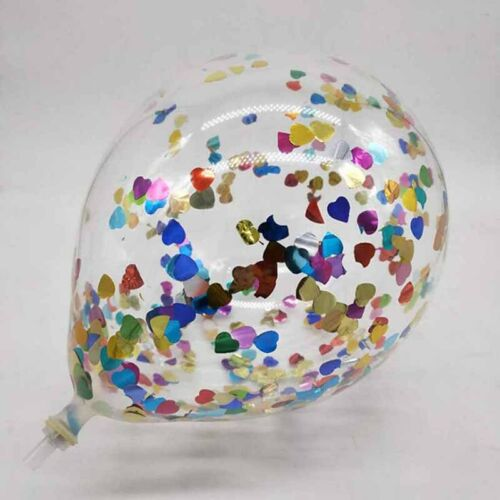 12inch 10color foil confetti latex balloons helium weddings birthday party  LC