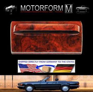 FROM GERMANY MERCEDES SL 107 560SL 560 SL BURL WOOD AC PANEL TRIM 1986-89