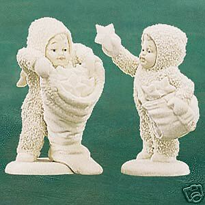 Dept 56 Snowbabies With Hugs /& Kisses NIB #68813