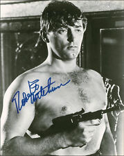 "10""x8"" PHOTO PRINTED AUTOGRAPH - ROBERT MITCHUM d"