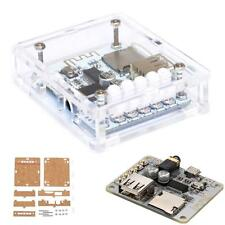 Bluetooth 4.0 Stereo Audio Receiver Module Board w/ Acrylic DIY Case Cover S0Y5