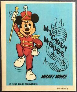 Wonder Bread Vintage Disney Stickers Little John