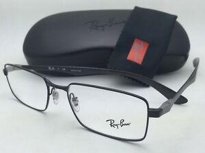 a0e31103fb RAY-BAN Rx-able Eyeglasses TECH RB 8414 2509 55-18 Black   Carbon ...