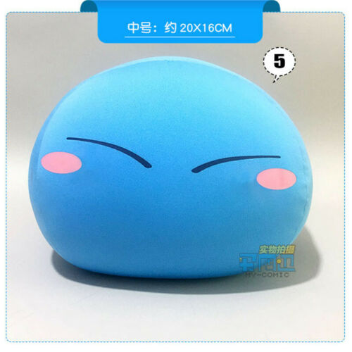 Anime Rimuru Tempest Soft Pillow Plush Toys Cartoon Cute Doll Ornament Christmas