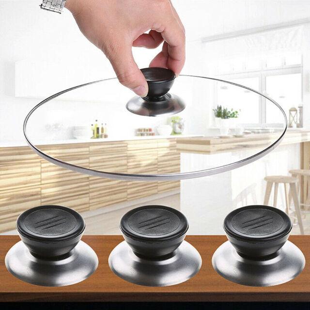1Set Universal Replacement Kitchen Cookware Pot Pan Lid Cover Grip Knob Handle