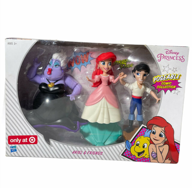 Disney Princess Poseable Comics Collection Ariel and Friends 2017 Hasbro for sale online