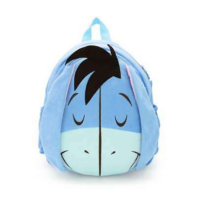 Winnie the Pooh EEYORE Plush Doll Soft Toy School Backpack Shoulder Book Bag 14/""